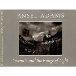 ANSEL SIGNED LIMITED EDITION BOOK OF PHOTOGRAPHS