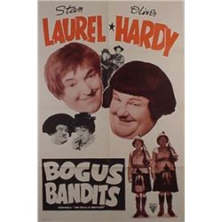 BOGUS BANDITS - LAUREL AND HARDY