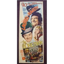 THE BOHEMIAN GIRL - LAUREL AND HARDY INSERT.