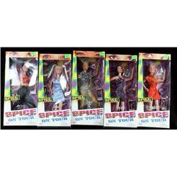 Spice on Tour Spice Girls Dolls