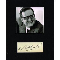 PRESIDENT SALVADOR ALLENDE. (1908-1973).