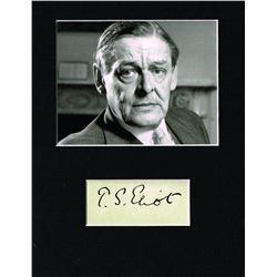 T.S. ELIOT (1888-1965).