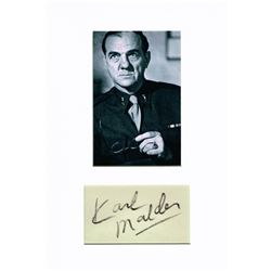 KARL MALDEN (1912-2009).