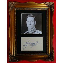KING GEORGE VI (1895-1952).