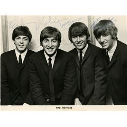 THE BEATLES SIGNED PHOTO.