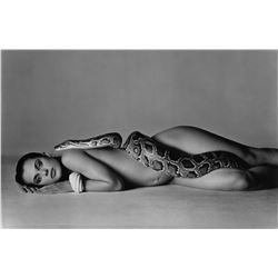 Richard Avedon - NASTASSJA KINSKI AND THE SERPENT.