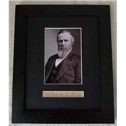 RUTHERFORD B HAYES (1822-1893).