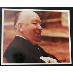 VINTAGE ALFRED HITCHCOCK PHOTO.