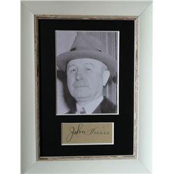 Johnny Torrio (1882-1957).
