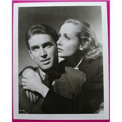 James Stewart & Carole Lombard in Made for Each Other 1939. VINTAGE PHOTO.