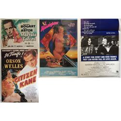 ASSORTED FILM POSTERS.