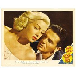 "The Postman Always Rings Twice (MGM, 1946). Lobby Card (11"" X 14"")."