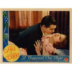 "It Happened One Night (Columbia, R-1937). Lobby Card (11"" X 14"")."