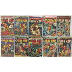 COLLECTION OF VINTAGE MARVEL COMICS.