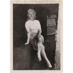 Marilyn Monroe Vintage Photograph
