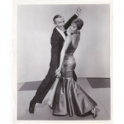 BARRIE CHASE + FRED ASTAIRE VINTAGE PHOTO.