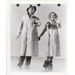Singin' in the Rain GENE KELLY & DEBBIE REYNOLDS vintage photo.