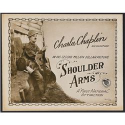 Shoulder Arms (First National, 1918). Title Lobby Card