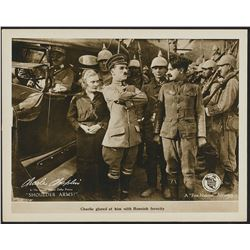 Shoulder Arms (First National, 1918). Lobby Card