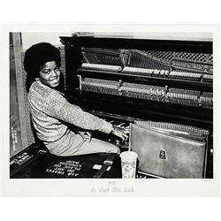 Michael Ochs - Michael Jackson at the piano.