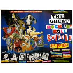 The Great Rock 'n' Roll Swindle (1980) poster.