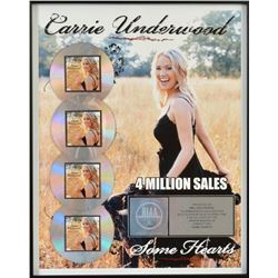 CARRIE UNDERWOOD MULTI-PLATINUM AWARD