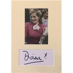 Princess Diana (1961-1997).