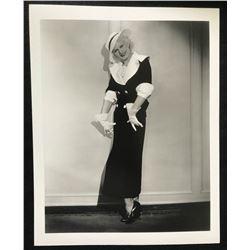 JEAN HARLOW (1911-1937) - GLOBE PHOTOS,NY.