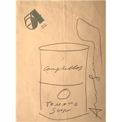 ANDY WARHOL - CAMPBELL SOUP.