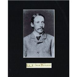 ROBERT LOUIS STEVENSON (1850-1894).