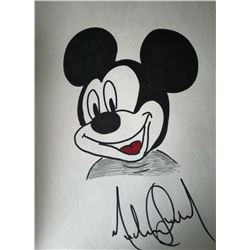 Michael Jackson drawing of Mickey Mouse.