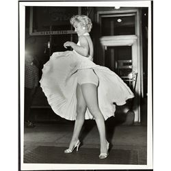 Marilyn Monroe in The Seven Year Itch by Sam Shaw (20th Century Fox, 1955).