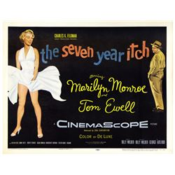 The Seven Year Itch (20th Century Fox, 1955). Half Sheet