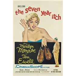 The Seven Year Itch (20th Century Fox, 1955). One Sheet.