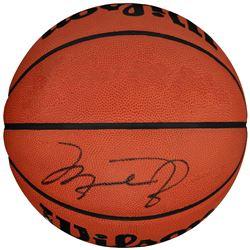 MAGIC JOHNSON SIGNED BASKETBALL.
