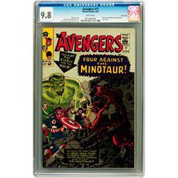The Avengers #17 Twin Cities pedigree (Marvel, 1965)