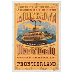 Mark Twain and the Molly Brown poster