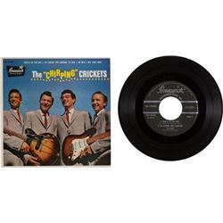 "Buddy Holly The ""Chirping"" Crickets EP (Brunswick 71036, 1957)."