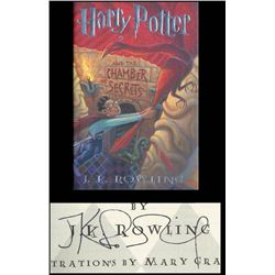 HARRY POTTER - JK ROWLING SIGNED BOOK.