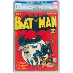 Batman #2 (DC, 1940) CGC