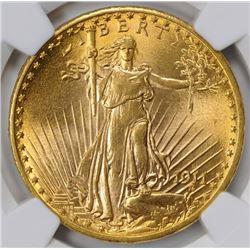 1911-D/D D Saint-Gaudens Double Eagles