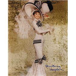 Audrey Hepburn signed photo.