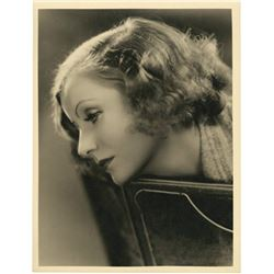 Clarence Sinclair Bull: GRETA GARBO vintage photo.