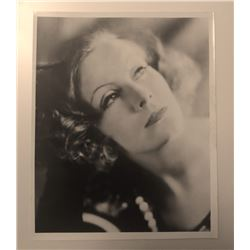 Clarence Sinclair Bull: GRETA GARBO vintage photo.