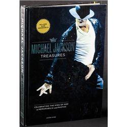 Michael Jackson Treasures by Jason King (Fall River Press, 2009).