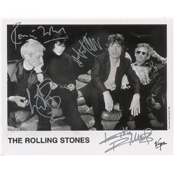 Rolling Stones Signed Photograph.