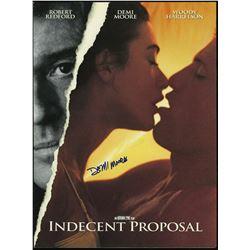 Indecent Proposal - Demi Moore signed program.