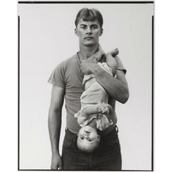 Richard Avedon:  In the American West photo.