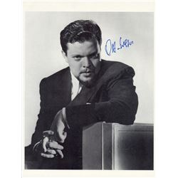 WELLES ORSON SIGNED PHOTO.