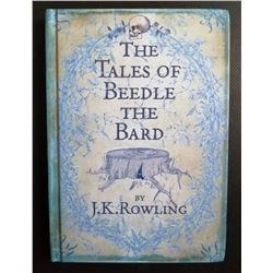 THE TALES OF BEEDLE THE BIRD SIGNED BY J K ROWLING.